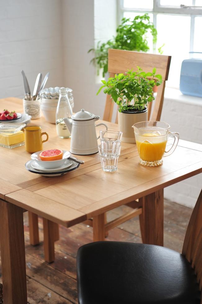 mint breakfast herbs orange juice