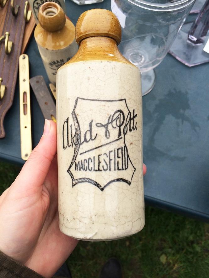 Vintage Bottle Macclesfield Boot Fair