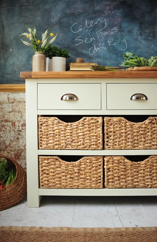 Blackboard, kitchen, dream kitchen, dream home, painted furnitire, kitchen storage