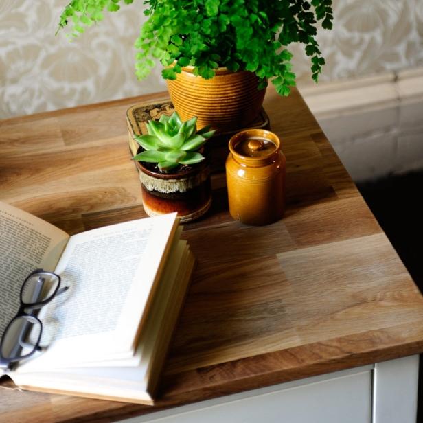 Book, dressing houses, selling houses, reading glasses, oak furniture, vintage wallpaper