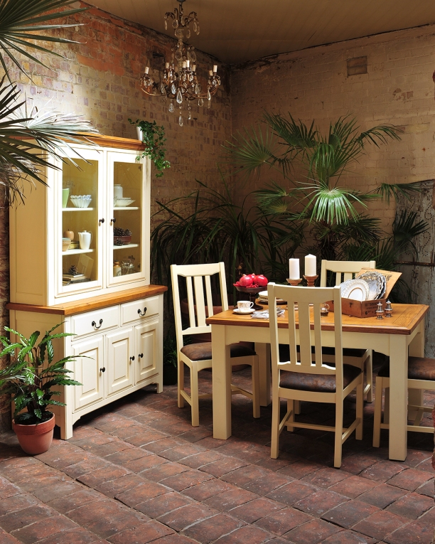 Dining area, Dining storage, organised, dining room, painted furniture