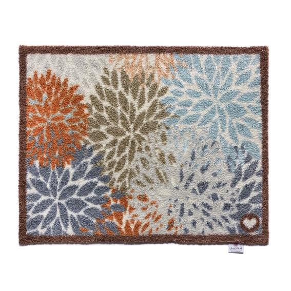 Doormat, floral,hug rug, washable doormat