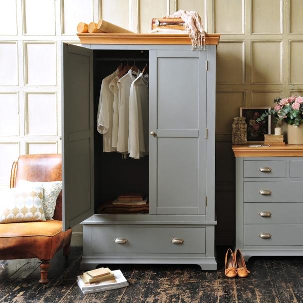 Grey furniture, wardrobe, bedroom furniture, painted furniture, dream bedroom