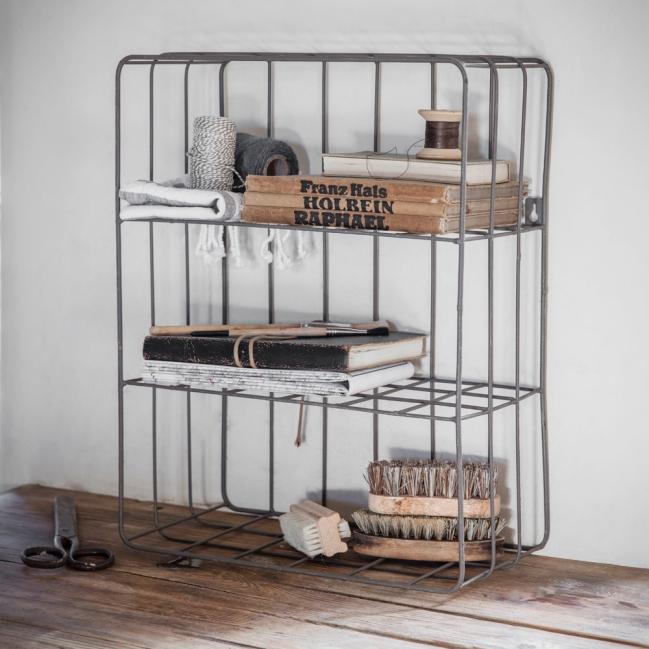 Metal shelving rack, metal storage, utility, industrial