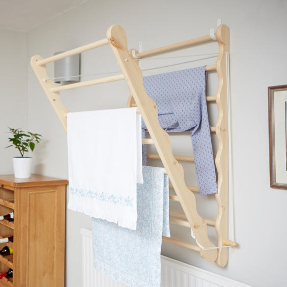 wall mounted drying rack, clothes horse, drying clothes, Drying rack, clothes rack