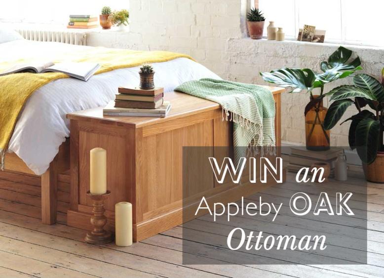 Appleby Oak Ottoman Comp