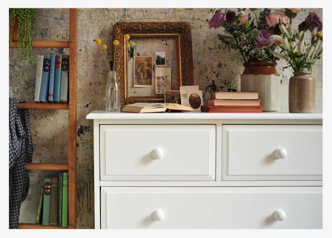 ALL WHITE!…KEEP PAINTED FURNITURE LOOKING PEACHY KEEN