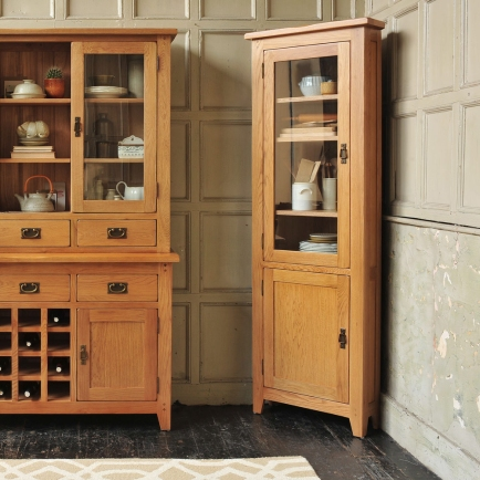 Corner unit, country kitchen, freestanding kitchen units