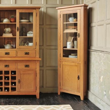 Corner unit, country kitchen, freestanding kitchen units