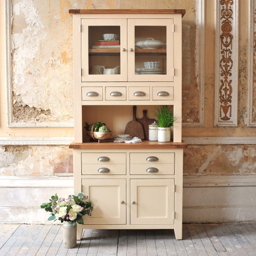 Dresser, dream kitchen, kitchen storage, country kitchen, cream furniture