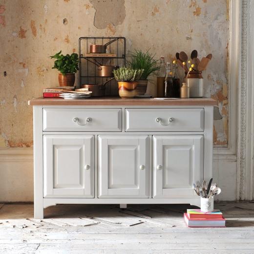 Westbury Painted Grey, Grey furniture, brushed metal handles, Dining, Kitchen2