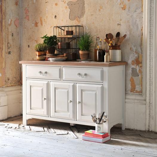 Westbury Painted Grey, Grey furniture, brushed metal handles2