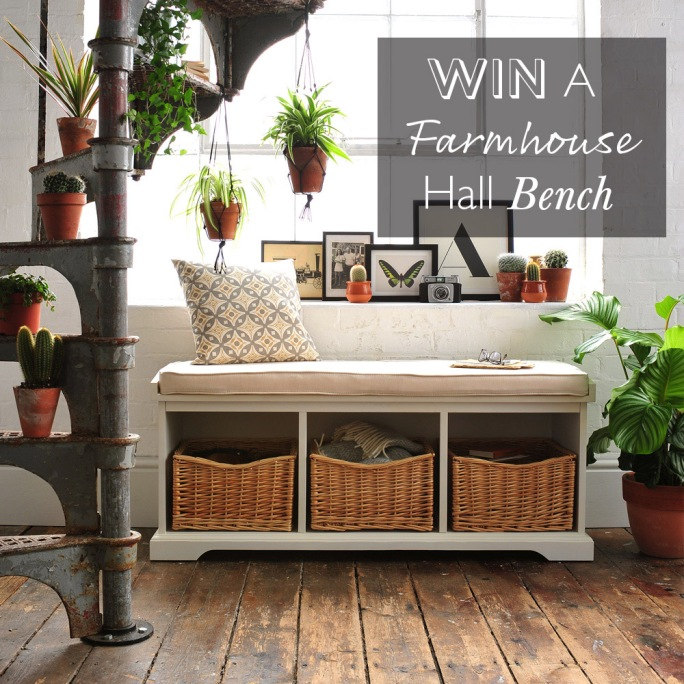 Farmhouse Hall Bench Competition