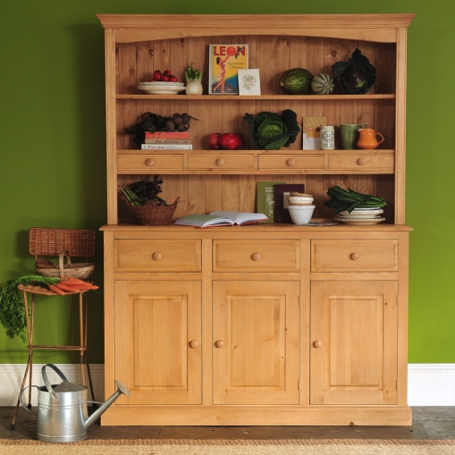 Pine dresser, country kitchen, harvest, Leon cookbook