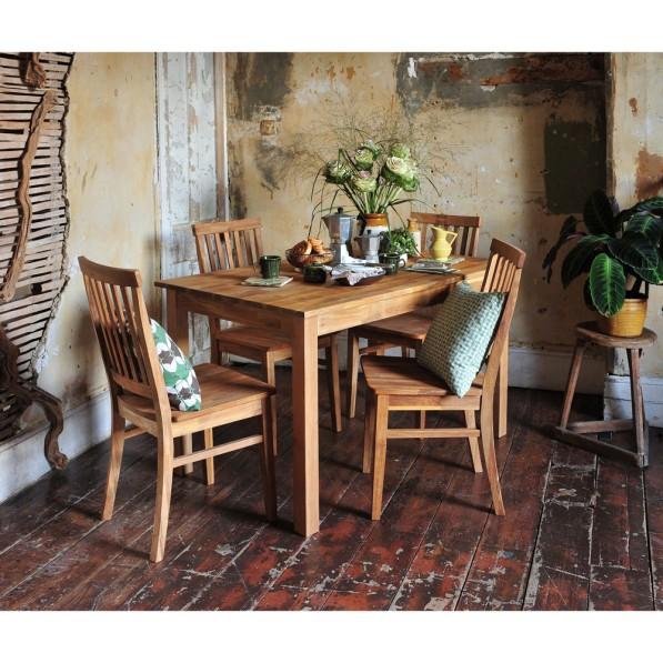 Epsom Oiled oak, oak dining