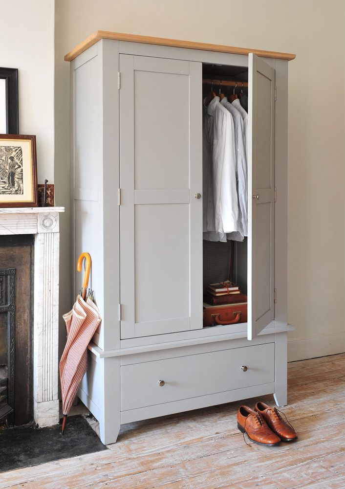 gents wardrobe, grey furniture, brogues, gentleman, dapper man