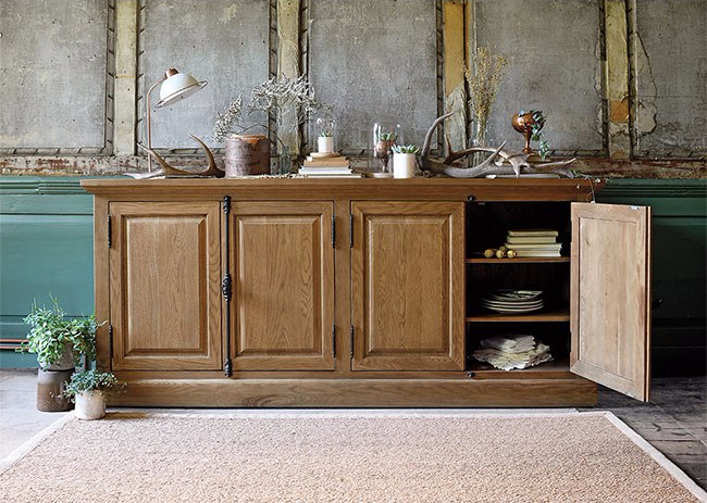 Fairford Oak Large Sideboard