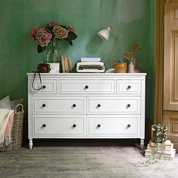 Low Wide Chest of Drawers