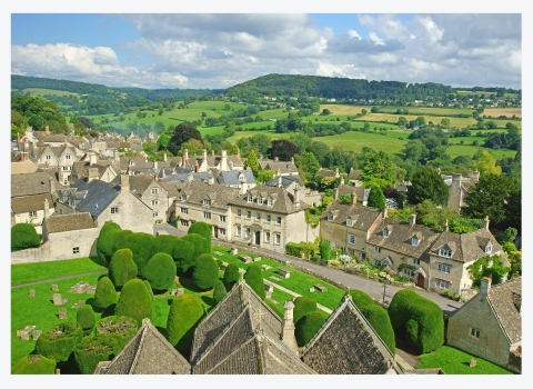 Summer in theCotswolds